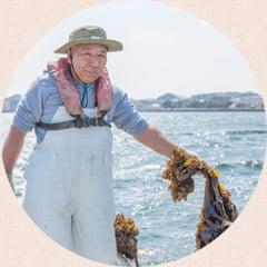 昆布・茎わかめ漁師 栗山さん
