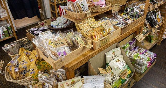 直営店 お菓子コーナー